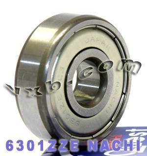 6301ZZE Nachi Bearing 12x37x12:Shielded:C3:Japan