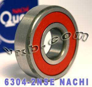 6304-2NSE Nachi Bearing 20x52x15 Sealed C3 Japan Ball Bearings