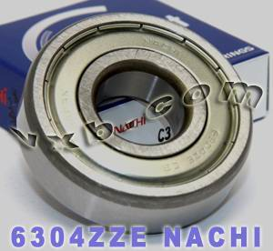 6304ZZE Nachi Shielded Bearing