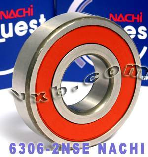 6306-2NSE Nachi Bearing 30x72x19 Sealed C3 Japan Ball Bearings