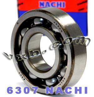 6307 Nachi Bearing 35x80x21:Open:C3:Japan