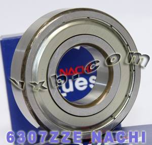 6307ZZE Nachi Bearing 35x80x21:Shielded:C3:Japan