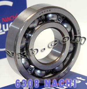 6308 Nachi Bearing 40x90x23:Open:C3:Japan