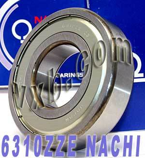 6310ZZE Nachi Bearing 50x110x27:Shielded:C3:Japan