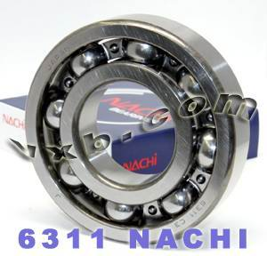 6311 Nachi Bearing 55x120x29:Open:C3:Japan