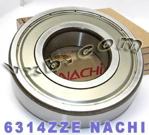 6314ZZE Nachi Bearing 70x150x35:Shielded:C3:Japan