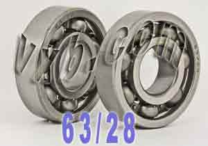 Honda Crank shaft Bearings TRX125 FourTrax Bearing:vxb:Ball Bearing