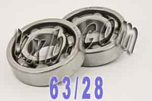 Honda Crank shaft Bearings TRX125 FourTrax Bearing:vxb:Ball Bearings