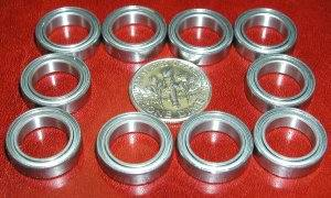 10 Bearings 10mmx 20mmx 5mm Single Shielded:vxb:Ball Bearing