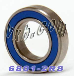 6801-2RS Bearing 12x21 Sealed 12x21x5:vxb:Ball Bearing