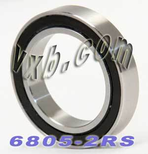 6805-2RS Bearing 25x37x7 Sealed:vxb:Ball Bearing