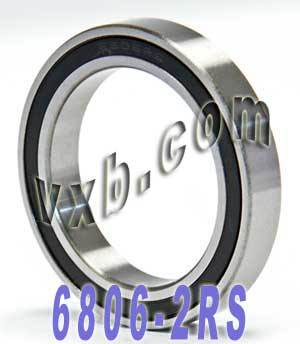 6806-2RS Bearing 30x42x7 Sealed:vxb:Ball Bearing