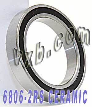 6806-2RS Bearing Hybrid Ceramic Sealed 30x42x7:vxb:Ball Bearings