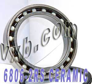6806-2RS Bearing Hybrid Ceramic Sealed 30x42x7:vxb:Ball Bearing