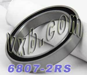6807-2RS Bearing 35x47x7 Sealed:vxb:Ball Bearing