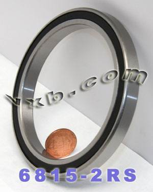 6815-2RS Bearing 75x95x10 Sealed:vxb:Ball Bearing