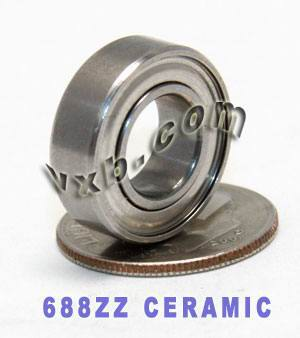 688ZZ Ceramic Bearing 8mmx 16mmx 5mm:Shielded:vxb:Ball Bearings