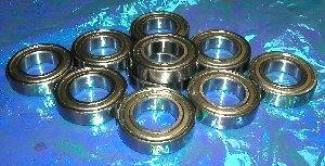 10 Bearing 6901ZZ 12x24x6 Shielded:vxb:Ball Bearing