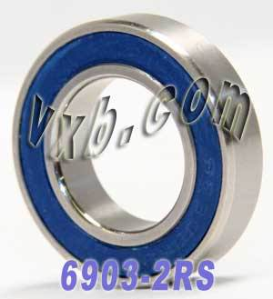 6903-2RS Bearing 17x30x7 Sealed:vxb:Ball Bearing