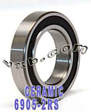 6905-2RS Bearing Hybrid Ceramic Sealed 25x42x9:vxb:Ball Bearing
