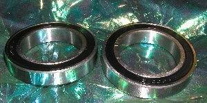 2 Bearing 6908-2RS 40x62x12 Sealed:vxb:Ball Bearing