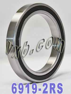 6919-2RS Bearing 95x130x18 Sealed:vxb:Ball Bearing