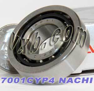 7001CYP4 Nachi Angular Ball Bearing