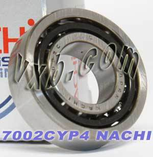 7002CYP4 Nachi Angular Ball Bearing