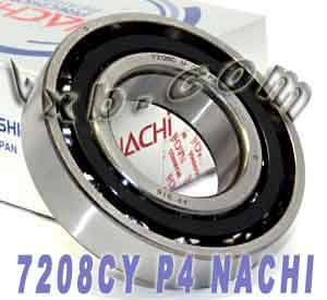 7208CYP4 Nachi high precision Angular Ball Bearing