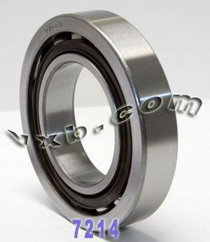 7214B Single Row Angular Contact 70mm x 125mm x 24mm:vxb:Ball Bearing