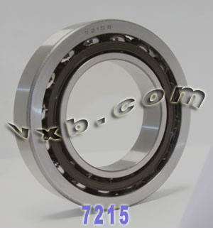 7215B Single Row Angular Contact 75mm x 130mm x 25mm:vxb:Ball Bearing
