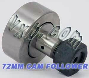 KR72 72mm Cam Follower Needle Roller:vxb:Ball Bearing