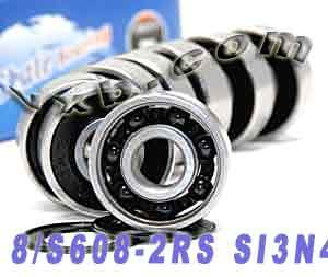 S608-2RS Si3N4 bearing