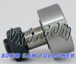 KR80 80mm Cam Follower Needle Roller:vxb:Ball Bearing