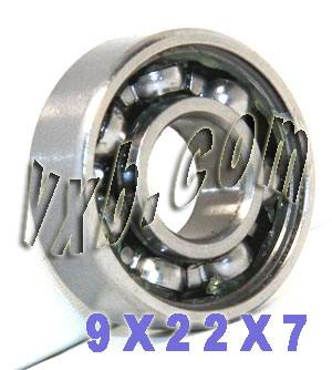 9x22x7 Shielded Bearing:vxb:Ball Bearing