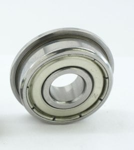 "SFR3ZZ Flanged Bearing 3/16""x1/2""x0.196"" Stainless:Shielded:vxb:Ball Bearings"