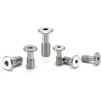 SSCHS-M3-8 NBK Socket Head Cap Captive Screws with Special Low Profile Made in Japan
