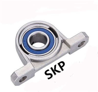 17mm Bore SSKP003  Miniature Pillow Block Mounted Bearings Stainless Steel