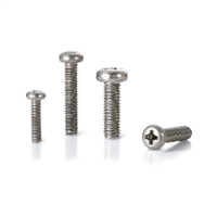 SVPT-M4-20 NBK Phillips Cross Recessed Pan Head Titanium Machine Screws with Ventilation Hole Pack of 10