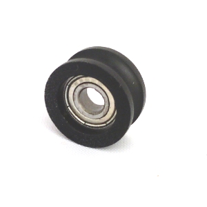 5mm Bore Bearing with 26mm Plastic Tire Angle view