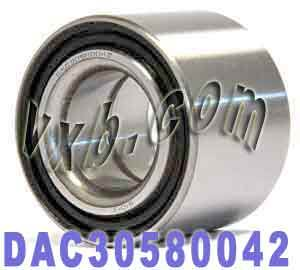DAC30580042 Auto Wheel Bearing 30x58x42:Sealed:VXB Ball Bearing