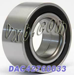 DAC42760033 Auto Wheel Bearing 42x76x33:Sealed:VXB Ball Bearing
