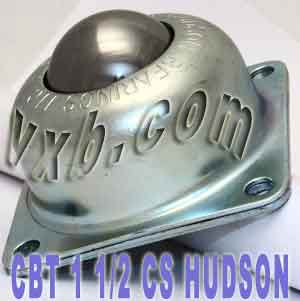 "CBT-1 1/2 CS Flange Mounted Ball Transfer Unit 1-1/2"" Main Ball:vxb:Ball Bearing"
