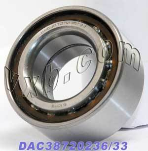 DAC38720236/33 Auto Wheel Bearing 38x72.02x36:Open:VXB Ball Bearing