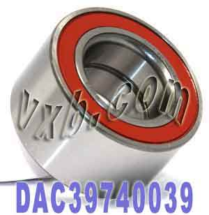 DAC39740039 Auto Wheel Bearing 39x74x39:Sealed:VXB Ball Bearing