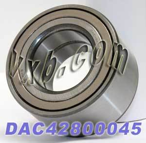 DAC42800045 Auto Wheel Bearing 42x80x45:Sealed:VXB Ball Bearing