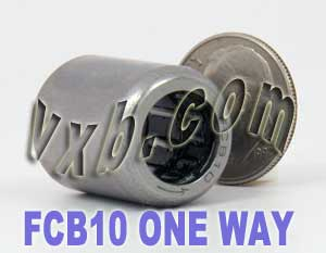 FCB10 One Way Needle Bearing 10x16x20:vxb:Ball Bearings