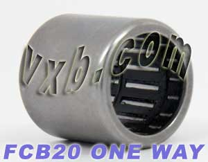 HFL2026 One Way Needle Bearing 20x26x26:vxb:Ball Bearing
