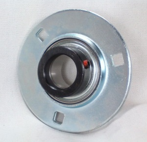 FHPFZ204-20mm Flange Pressed Steel 3 Bolt Ball Bearing:20mm inner diameter: Ball Bearing