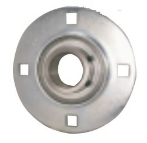"FHSPFZ207-20 Flange Round Hole 3 Bolt Ball Bearing:1 1/4"" Inch inner diameter: Ball Bearing"
